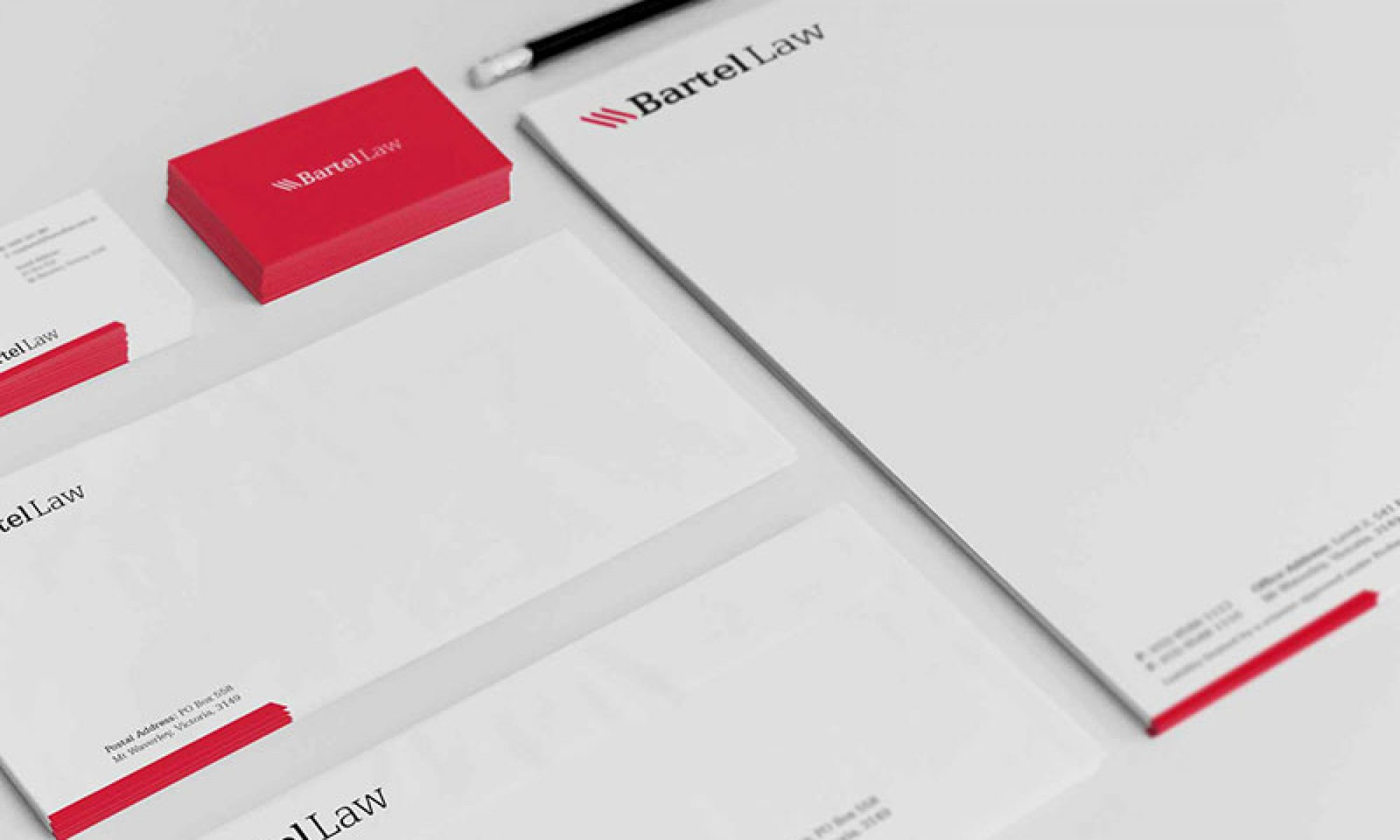 Bartel Law Branding by Logoland