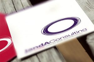 Janda Consulting Business Card Design by Logoland Australia