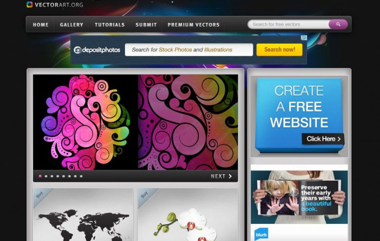 Best Affordable and Free Vector Image Websites
