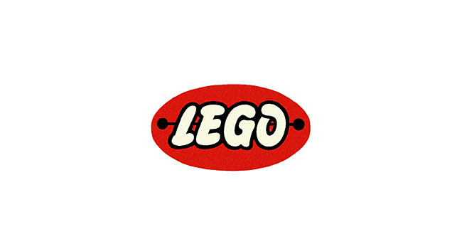 First Lego Oval Logo 1954