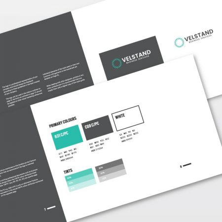 Logoland Brand Guidelines Booklet included with all our Logo Design Packages