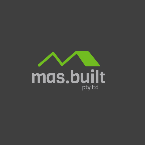 Mas Built Logo by Logoland