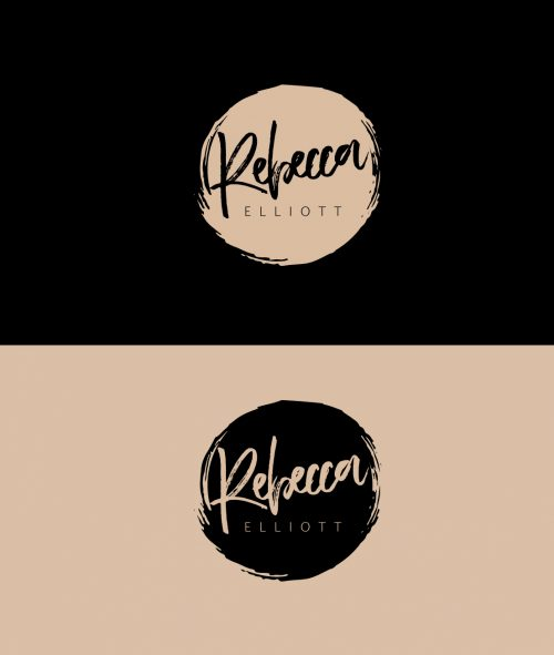 Case Study of Rebecca Elliott Logo design concept
