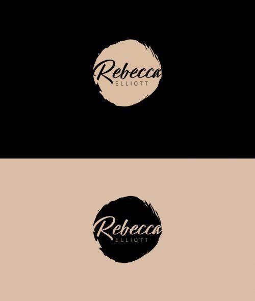 Case Study of Rebecca Elliott Logo design concept