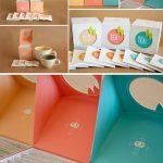 Beautiful Tea Label Design