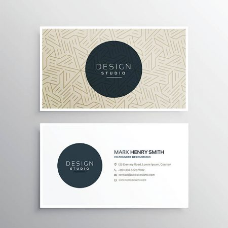 classic plus logo and business card design package