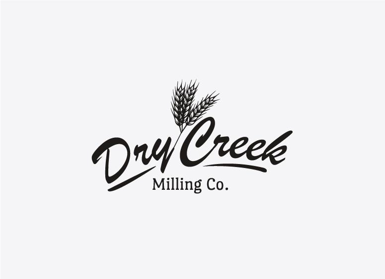 Dry Creek Milling Co logo design