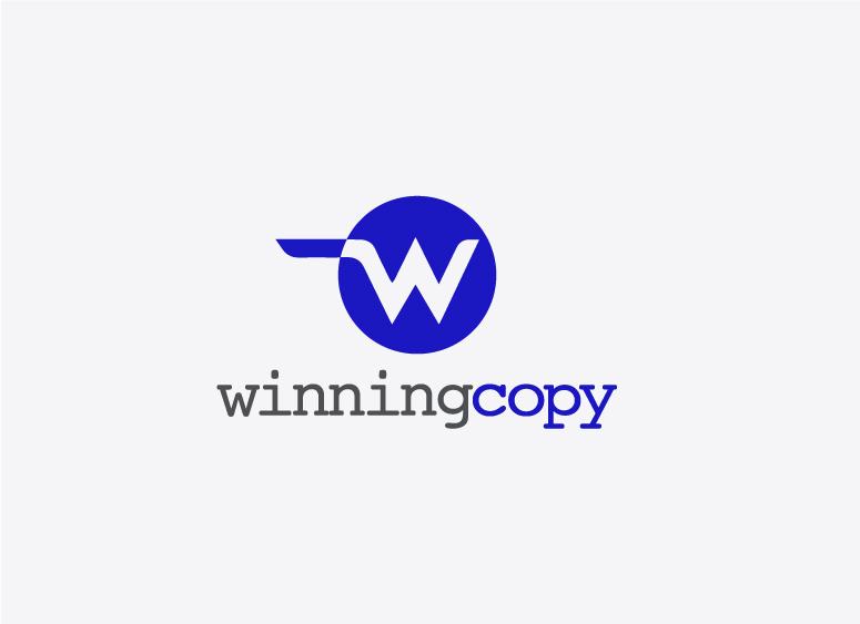 Winning Copy logo design
