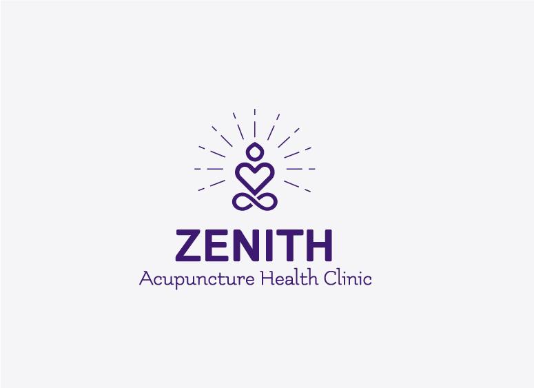 Zenith Acupuncture logo design