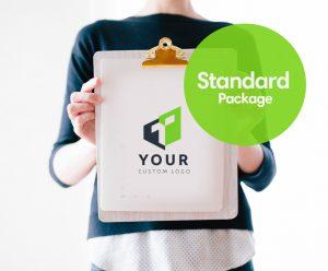 Standard package logo design