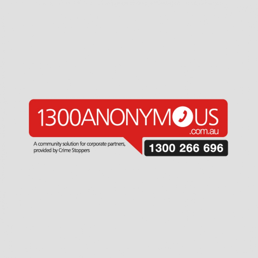 1300 Anonymous Logo by Logoland