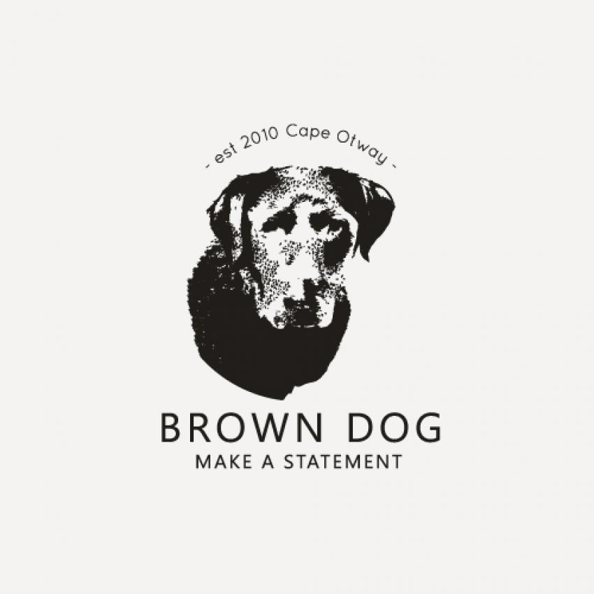 Classic, professional. illustrative dog logo design
