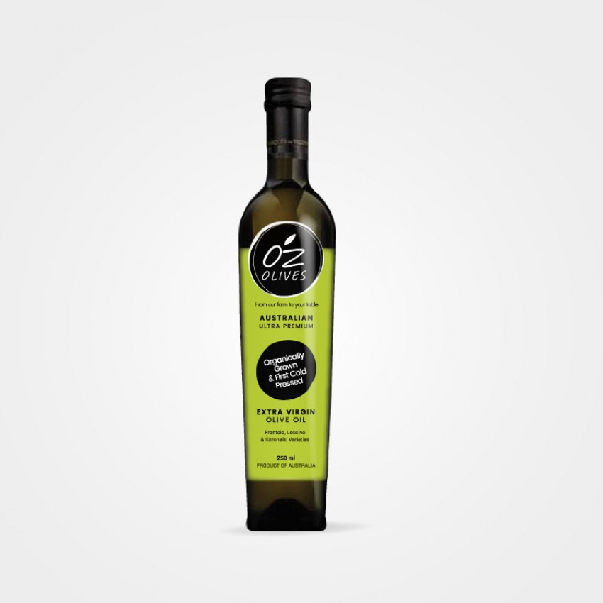 Oz Olives Label Design