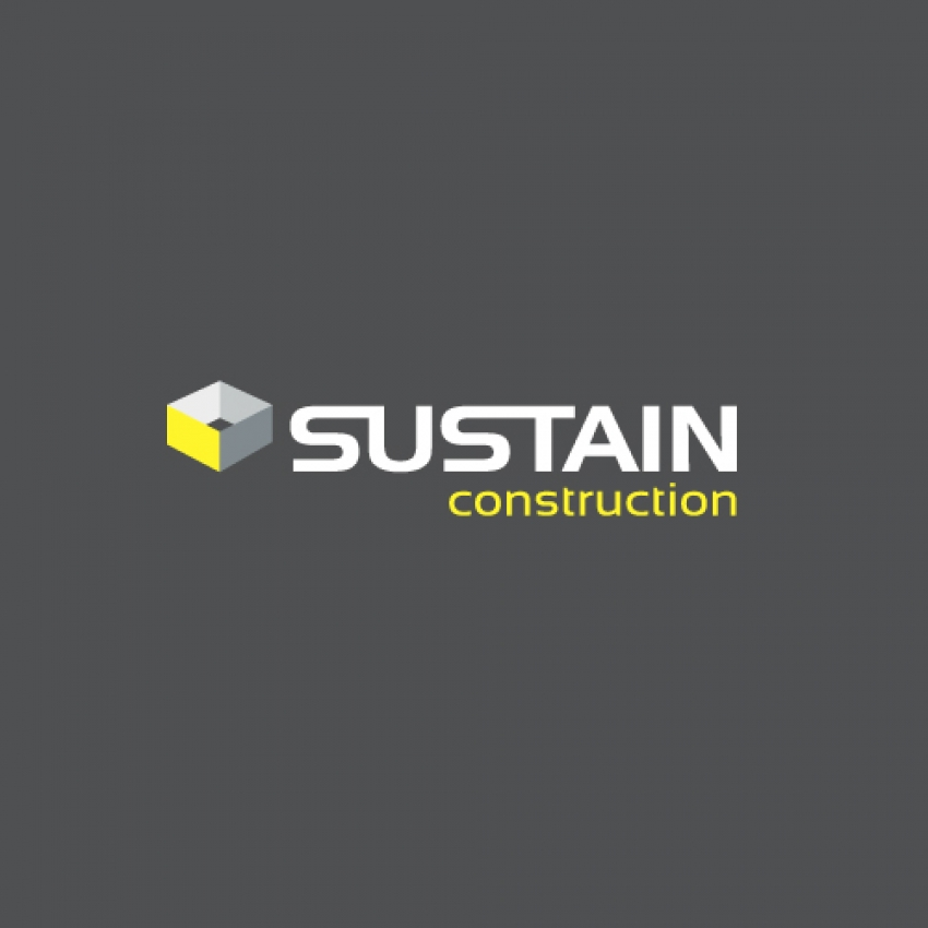 Sustain Construction logo design by Logoland