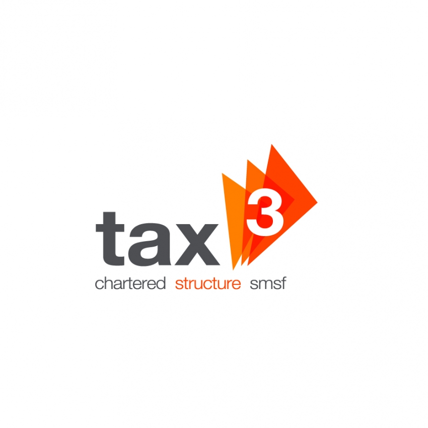 Tax 3 Logo Design